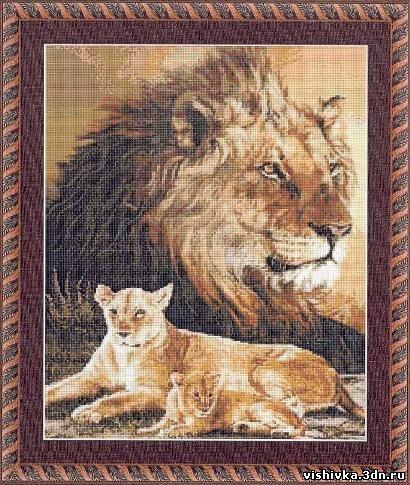 Дух льва - Львы, тигры - Схемы
